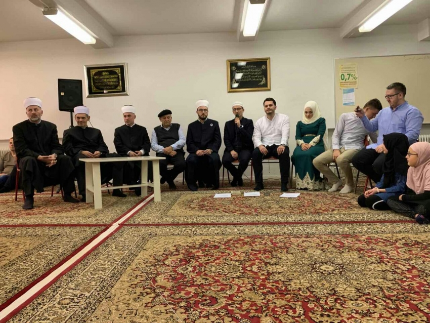 Muftija Kudić u posjeti IZ Bošnjaka u Švedskoj
