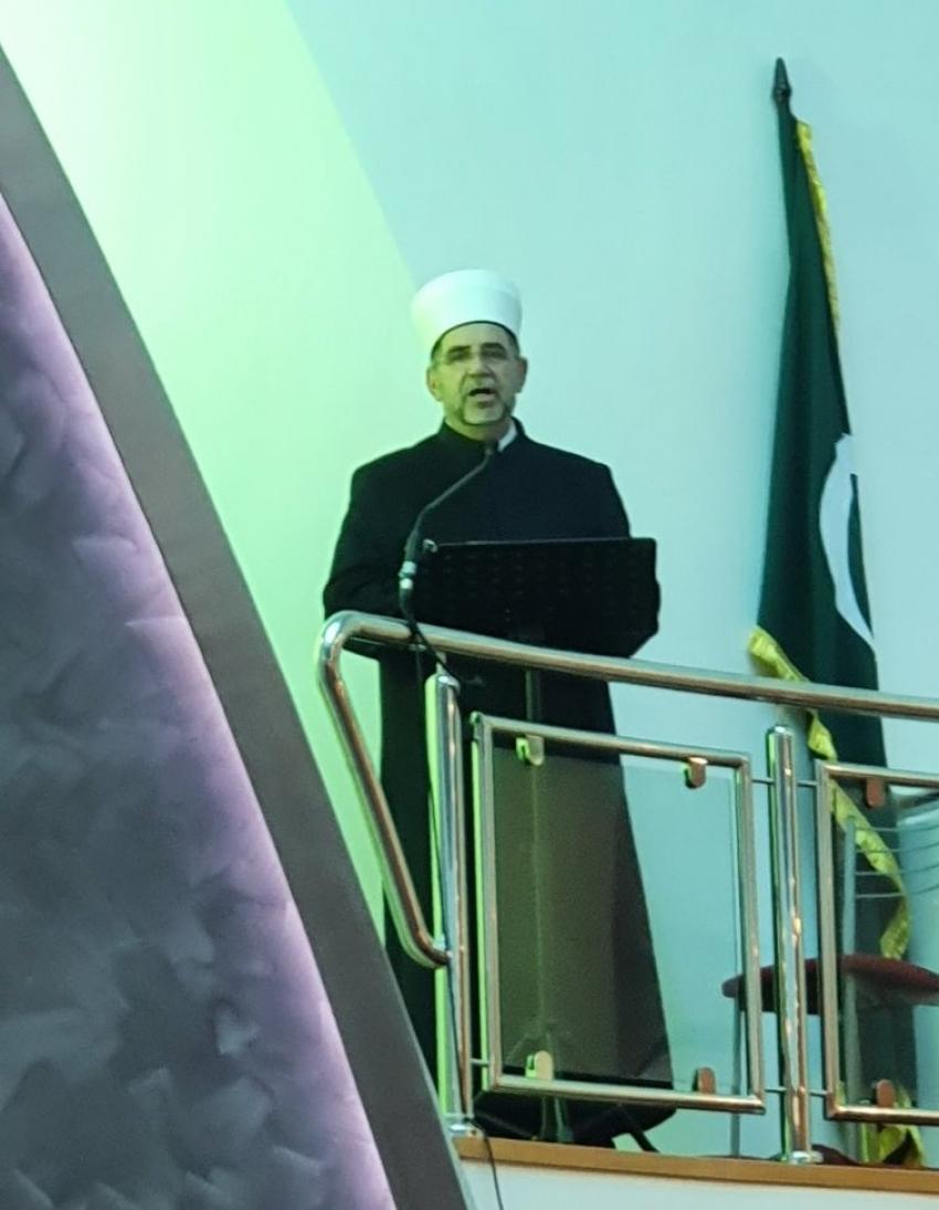 Hutba muftije Abdibegovića o poslanstvu Muhammeda, a.s. u Gradskoj džamiji u Bihaću