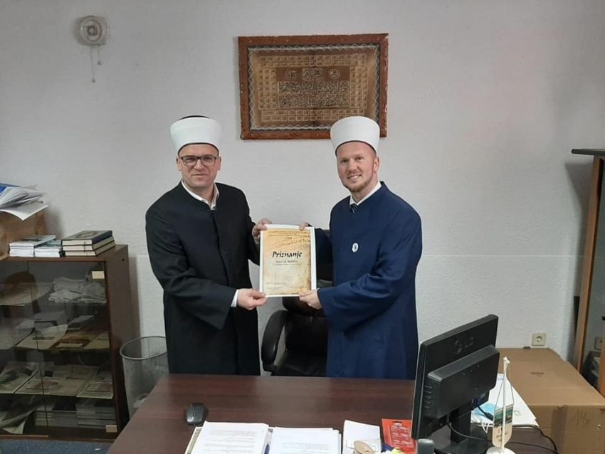 Emir-ef. Nuhić - najbolji muallim u 2020. godini u Medžlisu IZ Bosanski Novi