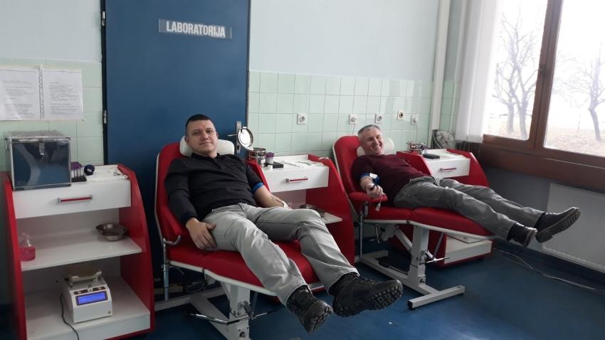 Dobrovoljno darivanje krvi Mreže mladih Bosanski Novi