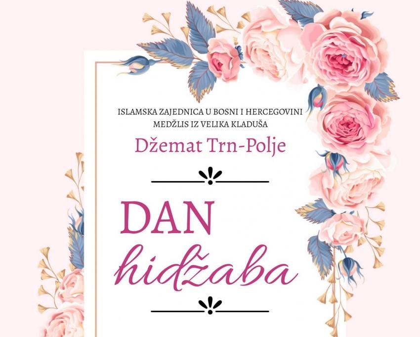Obilježavanje Dana hidžaba u Velikoj Kladuši