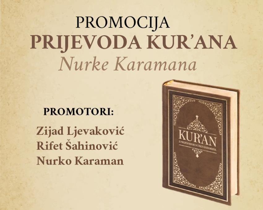 Promocija prijevoda Kur'ana Nurke Karamana u Bihaću