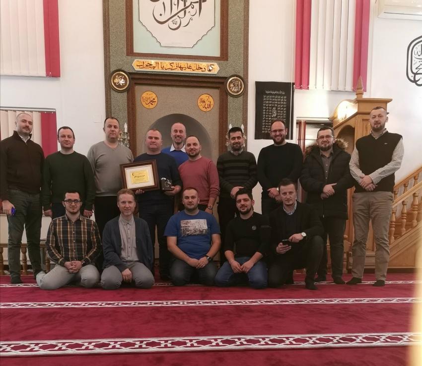 Imami Medžlisa IZ Bosanska Krupa ukazali poštovanje svome glavnom imamu