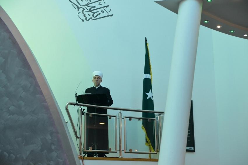 Kurban-bajramska hutba Muftije bihaćkog u Gradskoj džamiji u Bihaću