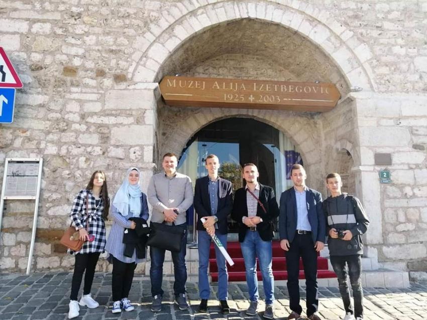 Mreža mladih Medžlisa IZ Bužim u posjeti Sarajevu, Ahmićima i Banjaluci