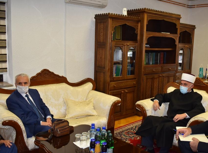 Muftiju Kudića i dekana Hodžića posjetio savjetnik za vjerska pitanja Ambasade Republike Turske u Sarajevu