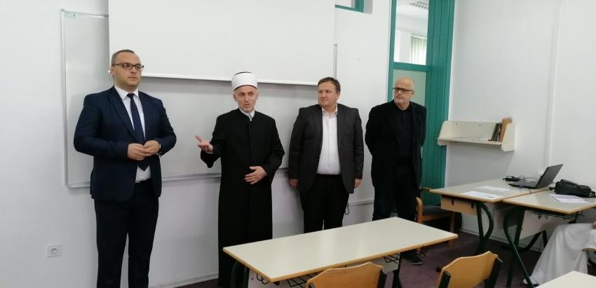 Muftija Kudić posjetio Islamski pedagoški fakultet u Bihaću