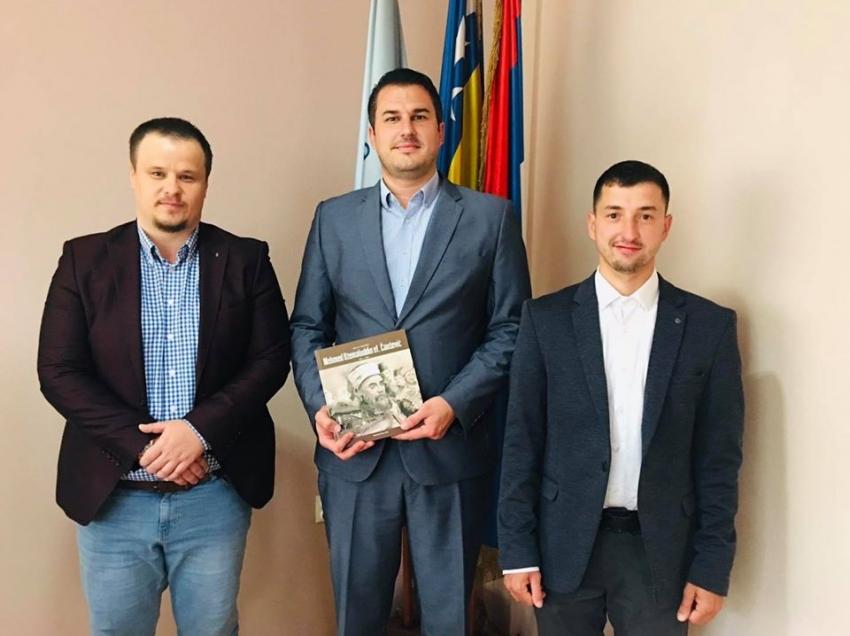 Rukodovstvo Ilmijje kod predsjedavajućeg Skupštine Grada Prijedora